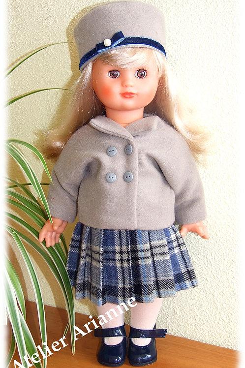 Tenue pour poupée Emilie Modes et Travaux Septembre 1951