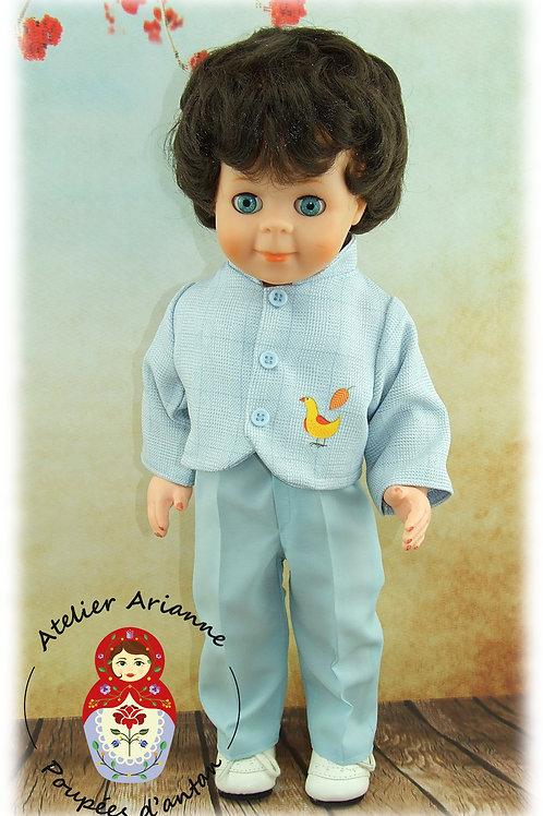 Mai 1981 pour poupée Jean-Michel de Modes et Travaux