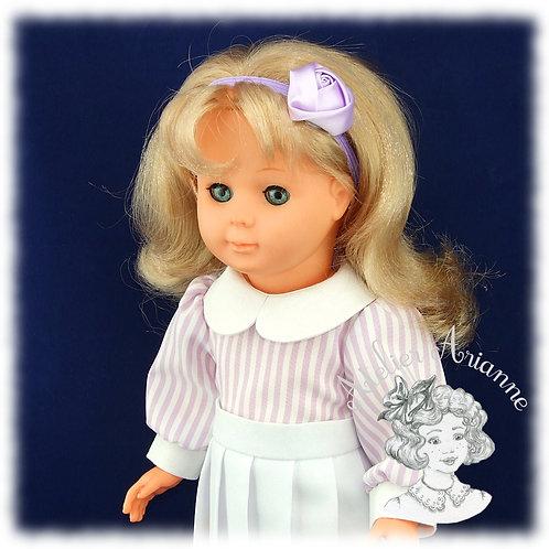 Nr 5 Chemise à manches bouffantes pour poupées de Modes et Travaux