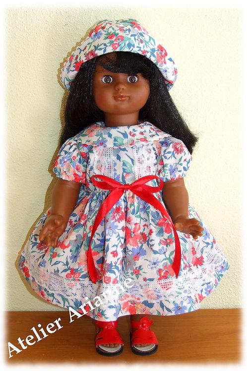 Tenue Livia pour poupée Emilie de Modes et Travaux