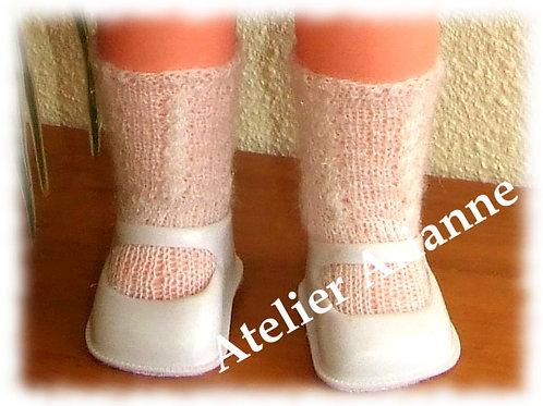 Chaussettes pour poupées 55-60 cm GéGé, Raynal et autres