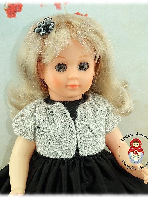 Gilet Jade -Tenue pour poupée Marie-Françoise, Francette, Françoise