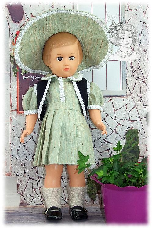 Avril 1951 Tenue Modes et Travaux pour poupée Françoise