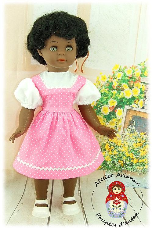 Tenue pour poupée Micheline de Petitcollin Juin 1956