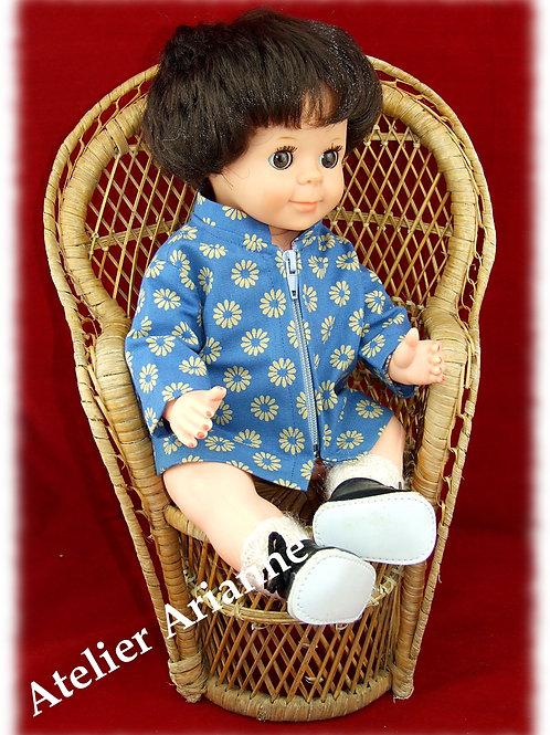 Tenue janvier 1968 pour poupée Michel de Modes et Travaux