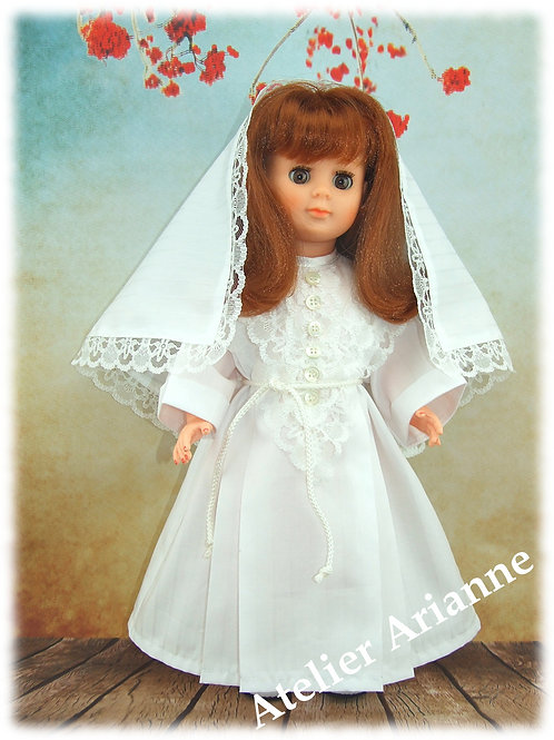 Tenue pour poupée Marie-Françoise Modes et Travaux Mai 1983