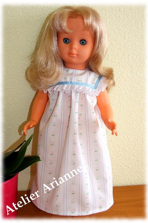 Tenue Décembre 1962 pour poupée de Modes et Travaux, Marie-Françoise