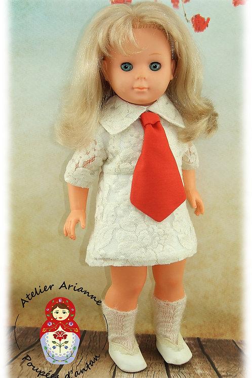 Octobre 1972 Tenue pour poupée Françoise Modes et Travaux