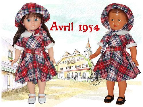 Tenue Françoise Avril 1954