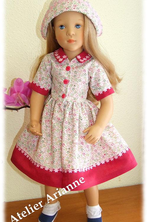 Tenue Adele pour poupée Finouche et Cathie de Bella