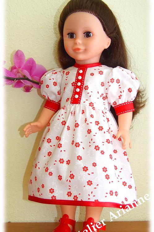 Tenue Madeleine pour poupée Marie-Francoise ,Finouche et Cathie de Bella