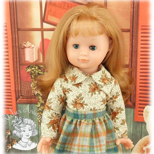 Chemise pour poupée Emilie de Modes et Travaux