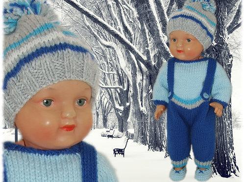 Tenue ''Rémy'' pour poupée 30-35 cm