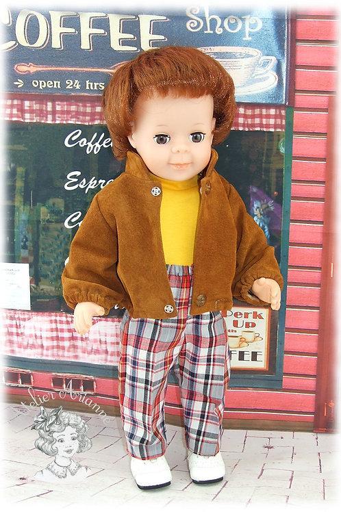 Septembre 1983-Tenue pour poupée Jean-Michel de Modes et Travaux