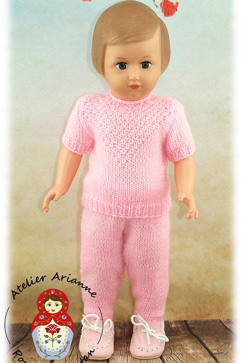 Janvier 1961 pour poupée Françoise