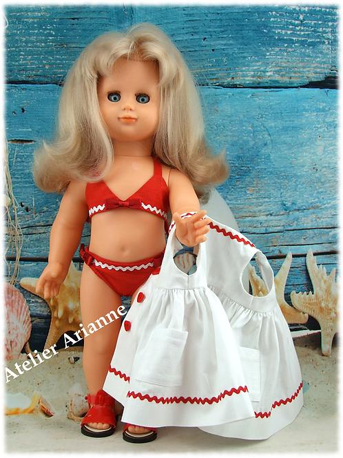 Tenue pour poupée Emilie Modes et Travaux août 1997