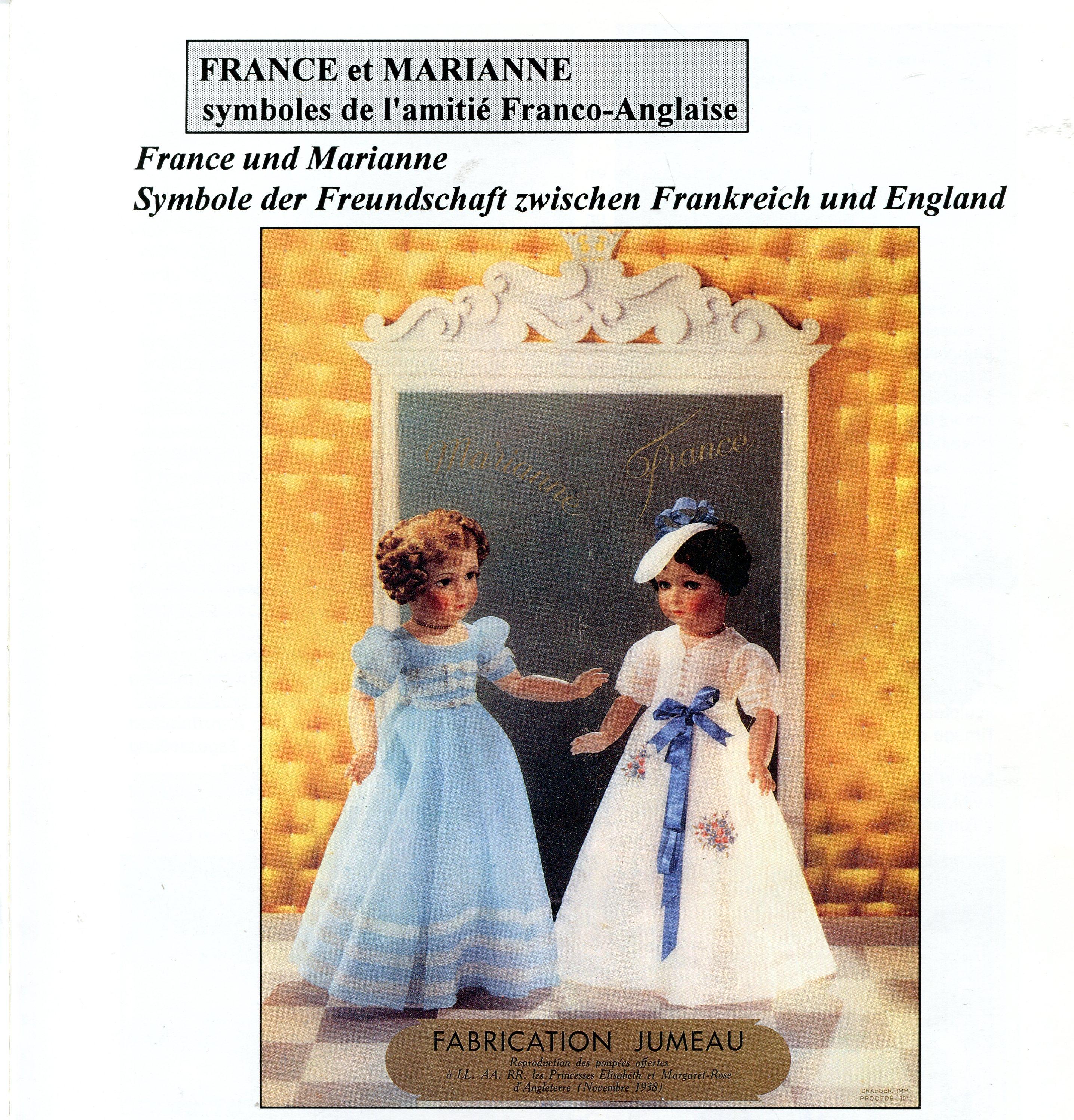 France Et Marianne Les Symboles De L Amitie Franco Anglaise
