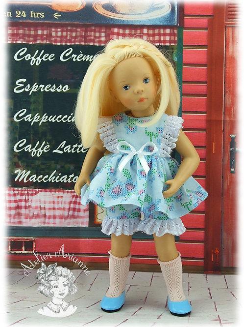 Tenue Rosine pour poupées : Minouche, Paola , Corolle, Bombon 30-33