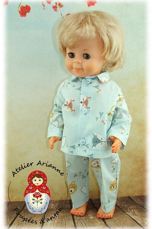 Bonne Nuit Tenue pour poupée Jean-Michel de Modes et Travaux