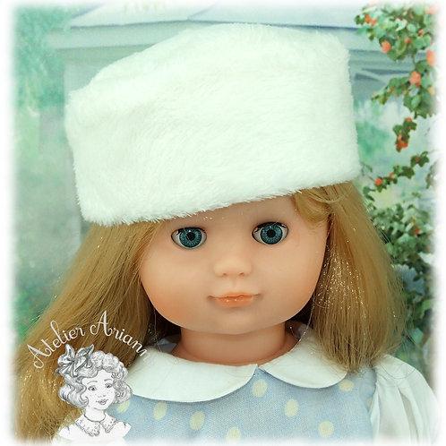 Toque pour poupée Emilie de Modes et Travaux