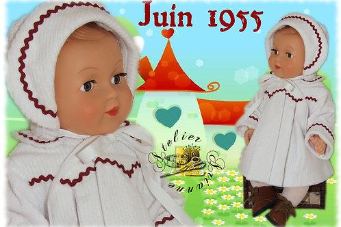 Tenue M&T pour Michel Juin 1955
