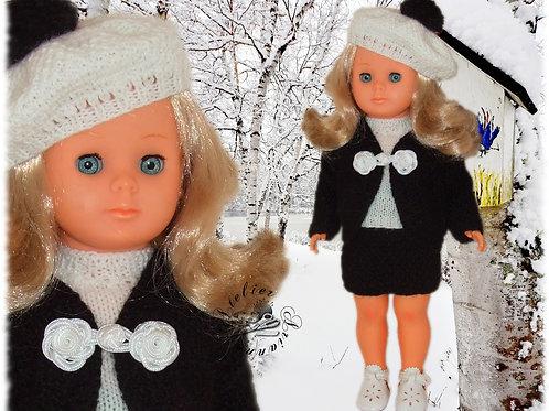 Tenue crochet pour poupée Françoise Modes et Travaux
