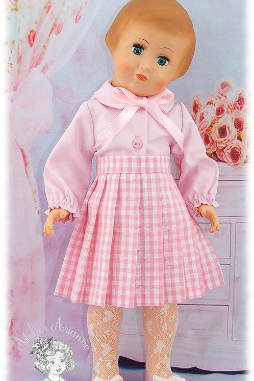 Tenue Jade pour poupées de Modes et Travaux: Françoise, Francette, Louise