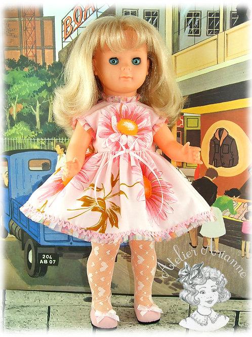 Coralie - Tenue pour les poupées Modes et Travaux