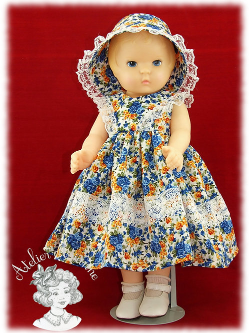 Bernadette Tenue pour poupées: Daisy Kingdom de 50 cm