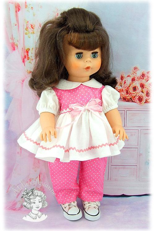 Tenue Olive pour poupée Kattie de Raynal
