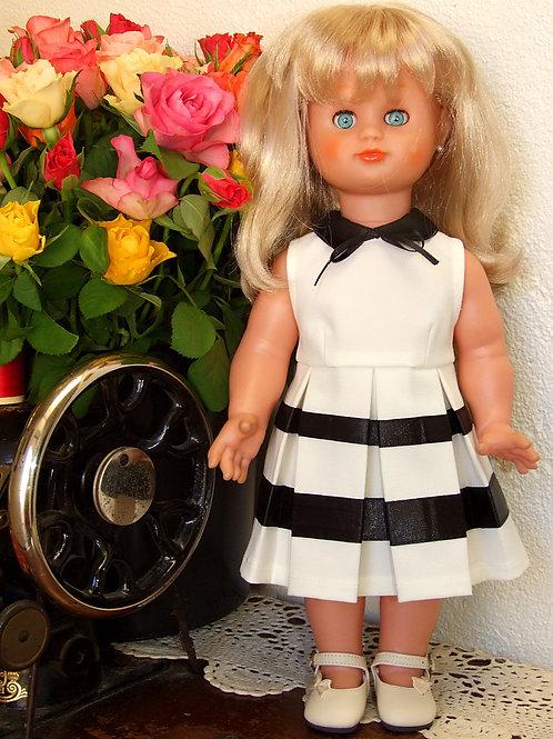 """Commande pour Monique  """"Audrey"""" pour poupée Emilie Modes et Travaux"""