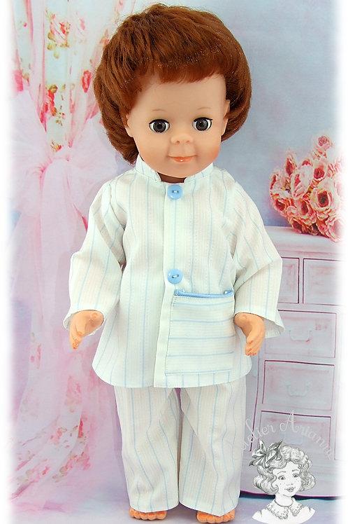 Tenue pour poupée Jean-Michel de Modes et Travaux-Septembre 1976