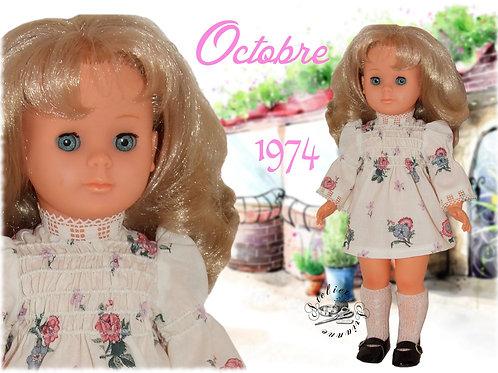 Tenue Françoise ou Marie-Françoise Octobre 1974