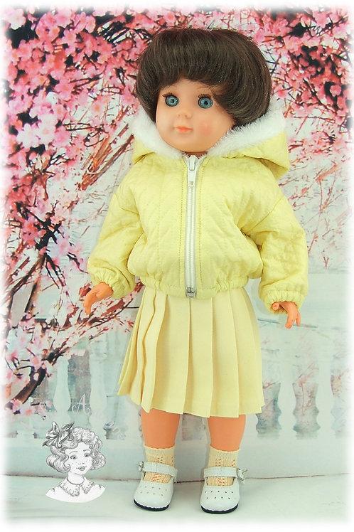 Jupe pour la tenue de Janvier 1961 pour poupées Françoise et Marie-Françoise