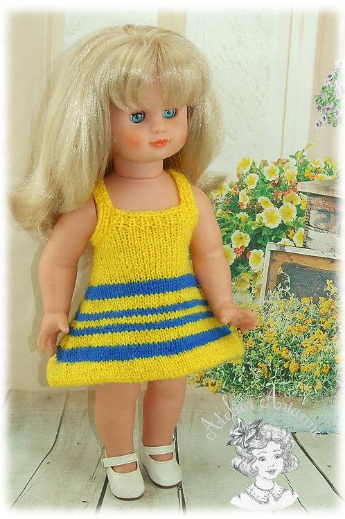 Tenue pour poupée Emilie Modes et Travaux Juillet 1975