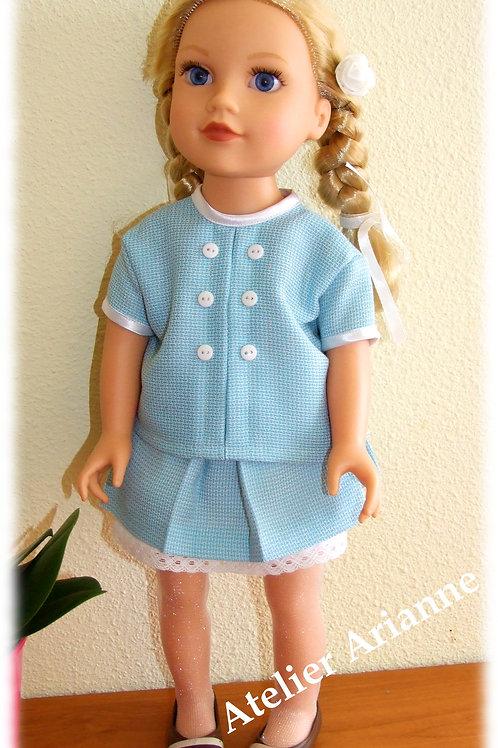 Tenue Sabine pour poupée Raynal polyéthylène 48, Journey Girl, Corolle 36