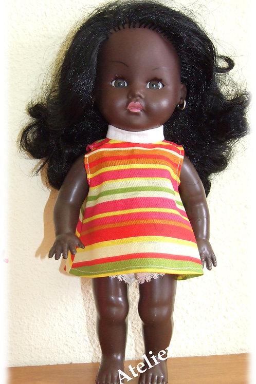Reproduction Tenue  pour poupée Zouzou ou Choukie de GéGé