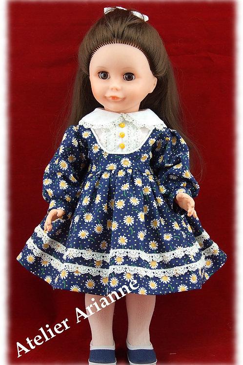 Tenue Zélie pour poupées Modes et Travaux Marie-Françoise, Louise , etc 40 cm