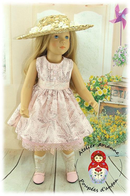 Tenue Camille - création exclusive de la série Été Shabby pour poupée Finouche