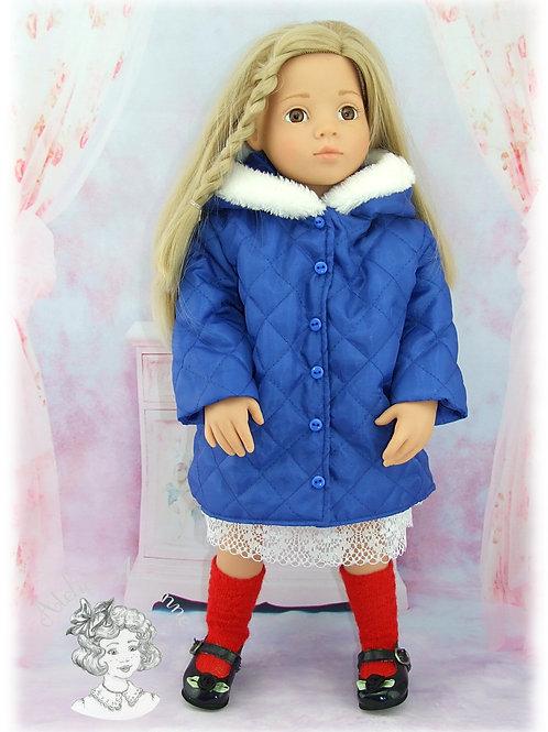 Anorak Pauline pour poupée American Girl, Gotz, Rosereine et autres de 48-50 cm