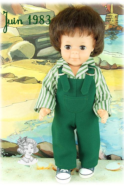 Juin 1983 - Tenue pour poupée Jean-Michel de Modes et Travaux