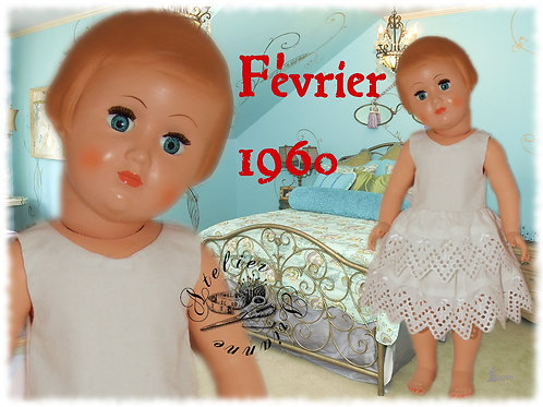 Tenue M&T pour Françoise Février 1960