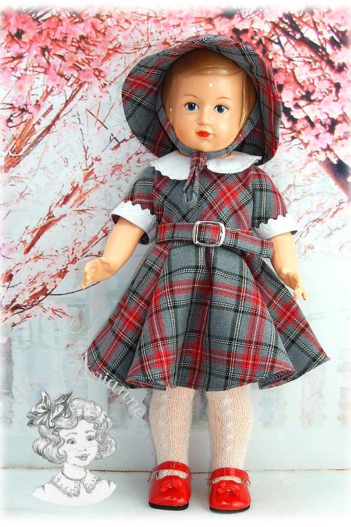 Avril 1954 Tenue pour poupée Françoise, Modes et Travaux