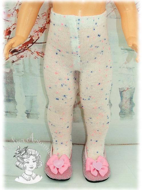 N 32 Collant en jersey pour poupées Modes et Travaux , Kattie de Rayna