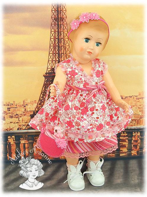 """Pièce unique - tenue Maryse de la série """"Visite à Paris"""""""