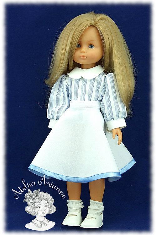 Jupe soleil pour poupées Chérie de Corolle et Paola Reina de 33 cm