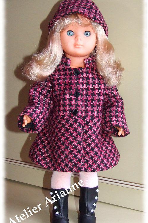 Tenue pour poupée Louise, Marie - Françoise Modes et Travaux novembre 1970