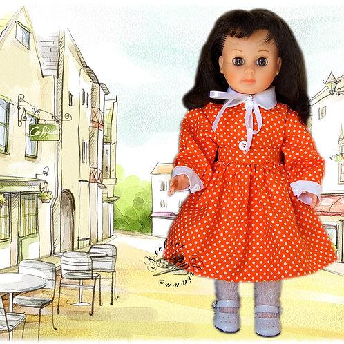 Tenue pour poupée Françoise et  Marie - Françoise Modes et Travaux Novembre 1952