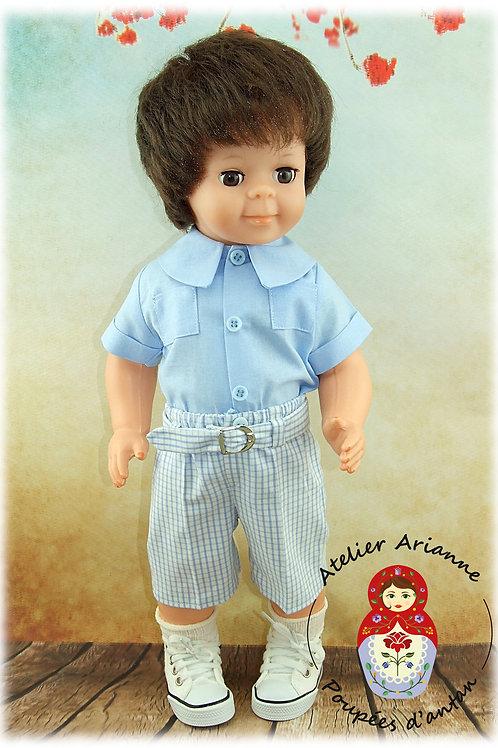 Juillet 1978 Tenue pour poupée Jean-Michel de Modes et Travaux