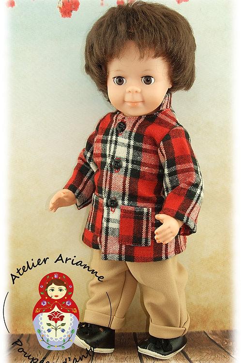 Avril 1971 Tenue pour poupée Jean-Michel Modes et Travaux